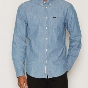 Lee Jeans Lee Button Down Kauluspaita Blue