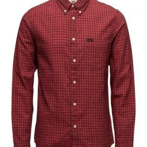 Lee Jeans Lee Button Down Vibrant Red