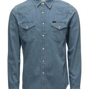 Lee Jeans Lee Western Shirt Stone Bleach