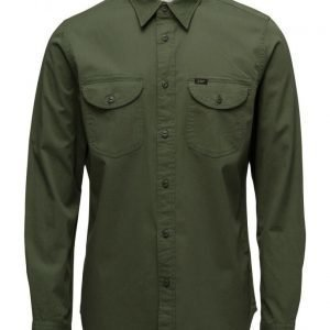 Lee Jeans Lee Worker Shirt Military Green