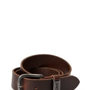Lee Jeans Lj Belt Dark Brown vyö