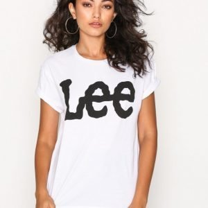 Lee Jeans Logo Tee T-Paita White