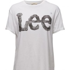 Lee Jeans Logo Tee White