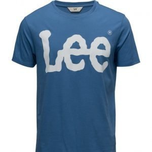 Lee Jeans Logo Tee Workwear Blue