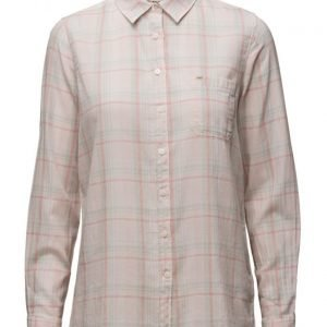 Lee Jeans One Pocket Shirt Pale Pink pitkähihainen paita