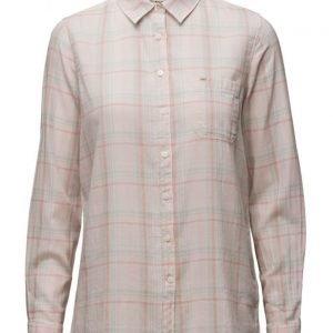 Lee Jeans One Pocket Shirt Pale Pink pitkähihainen paita