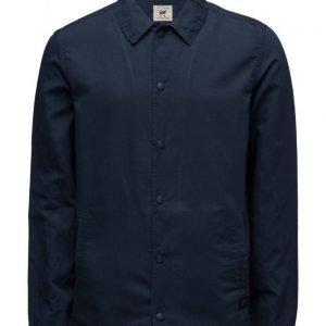 Lee Jeans Overshirt Deep Indigo kevyt takki