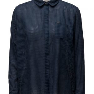 Lee Jeans Plain Shirt Deep Indigo pitkähihainen paita
