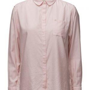 Lee Jeans Plain Shirt Pale Pink pitkähihainen paita