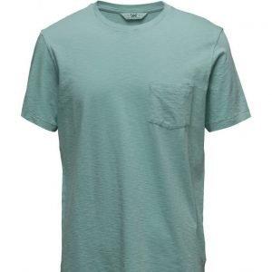 Lee Jeans Pocket Tee Aqua lyhythihainen t-paita
