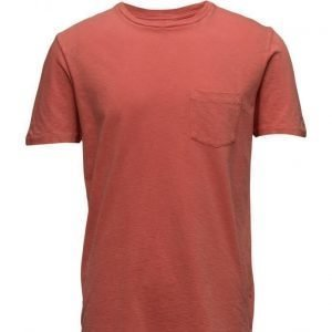 Lee Jeans Pocket Tee Faded Red lyhythihainen t-paita