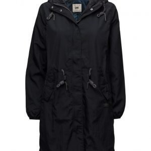 Lee Jeans Rain Jacket Black