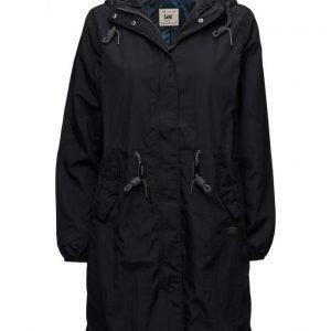 Lee Jeans Rain Jacket Black
