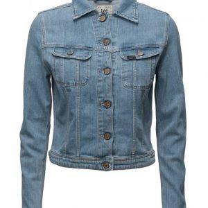 Lee Jeans Rider Jacket Bleached Stone farkkutakki
