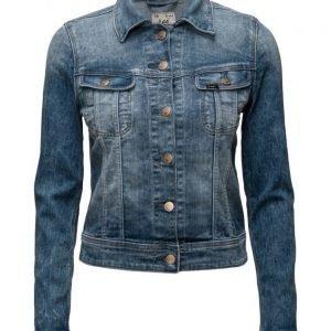 Lee Jeans Slim Rider Custom Blue farkkutakki