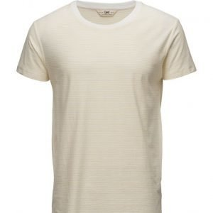 Lee Jeans Ss Stripe Tee Golden Haze lyhythihainen t-paita