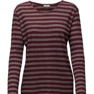 Lee Jeans Stripe Tee Ls