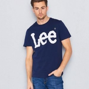 Lee Logo Tee Navy