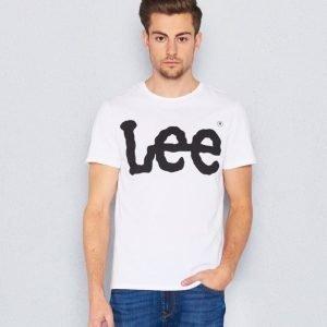 Lee Logo Tee White