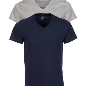 Lee Twinpack V Neck T-Paita 2-Pack