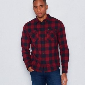Lee Western Shirt Dark Red