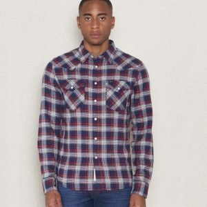 Lee Westernshirt Bright Navy