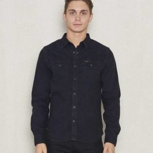 Lee Westernshirt Pitch Black