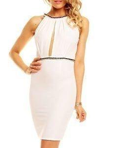 Leigh Dress White