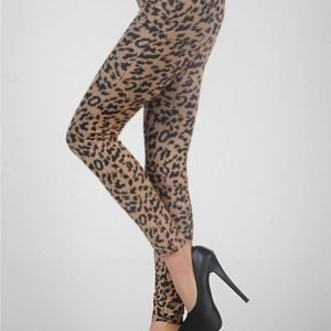 Leopard Spot Leggings Thights
