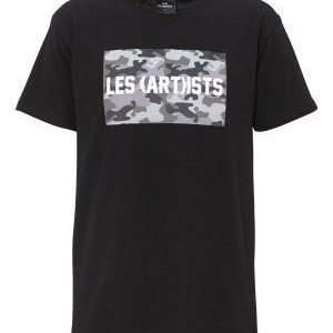 Les Artists TEE BOX LOGO BLACK