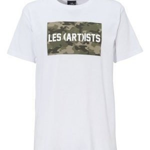 Les Artists TEE BOX LOGO White