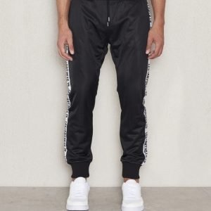 Les Artists Track Pant Black
