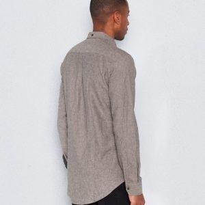 Les Deux Desert Shirt Dark Grey