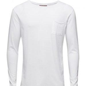 Les Deux T-Shirt Long Pocket pitkähihainen t-paita