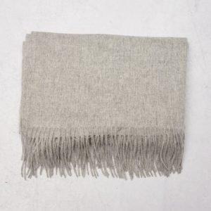 Les Deux Wool Scarf Grey Melange