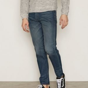 Levis 501 Customized Tapered Bugsy Farkut Denim