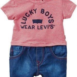 Levi's Body T-paita ja shortsit Milopol