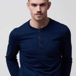 Levi's Bryant Henley Saturated Indigo