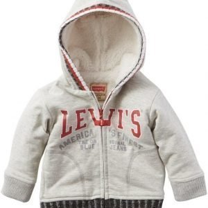 Levi's Neuletakki hupulla Light Grey