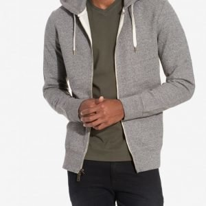 Levis Original Zip Up Hoodie Pusero Grey