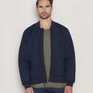 Levi's Quilted Bomber Dress Blues
