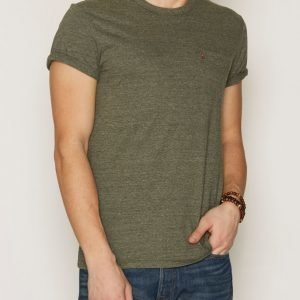 Levis SS Sunset Pocket Tee T-paita Olive