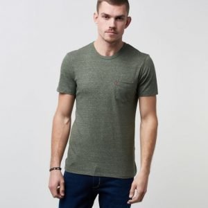 Levi's Sunset Pocket Tee Olive Night
