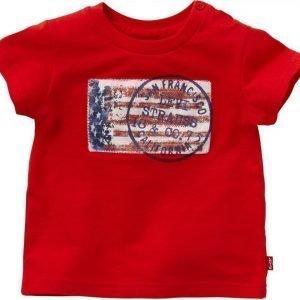 Levi's T-paita Mac Red