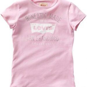 Levi's T-paita White Purple