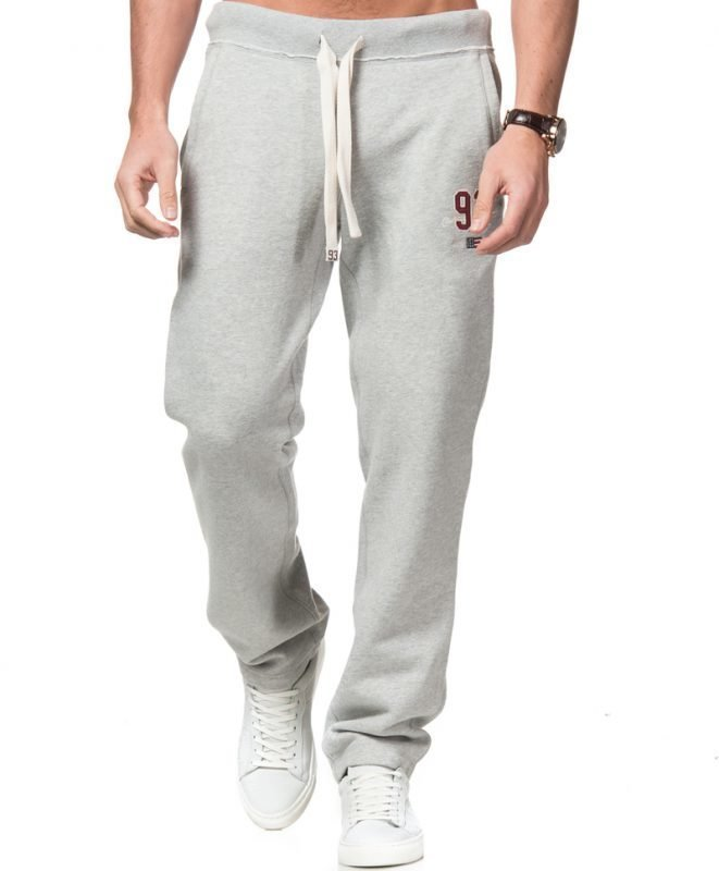 ... Lexington Brandon Jersey Pants Warm Grey Melange