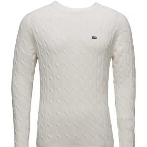Lexington Company Andrew Cotton Cable Sweater pyöreäaukkoinen neule