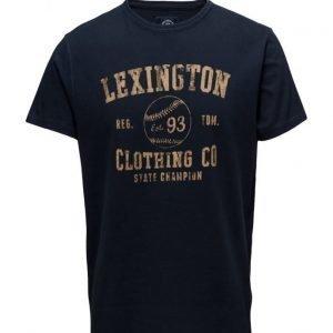Lexington Company Justin Tee lyhythihainen t-paita