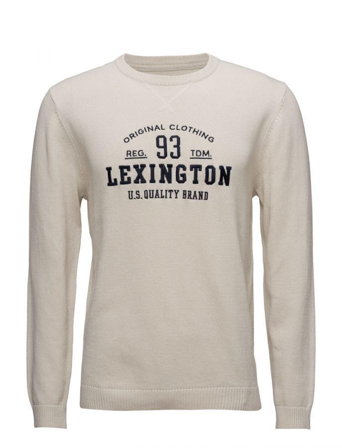 Lexington Company Nelson Knitted Sweatshirt pyöreäaukkoinen neule