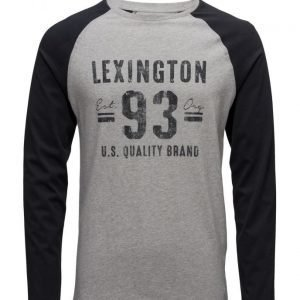 Lexington Company Seth Long Sleeve Tee pitkähihainen t-paita